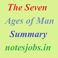 The Seven Ages of Man Summary